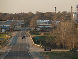 Small town in Kansas.